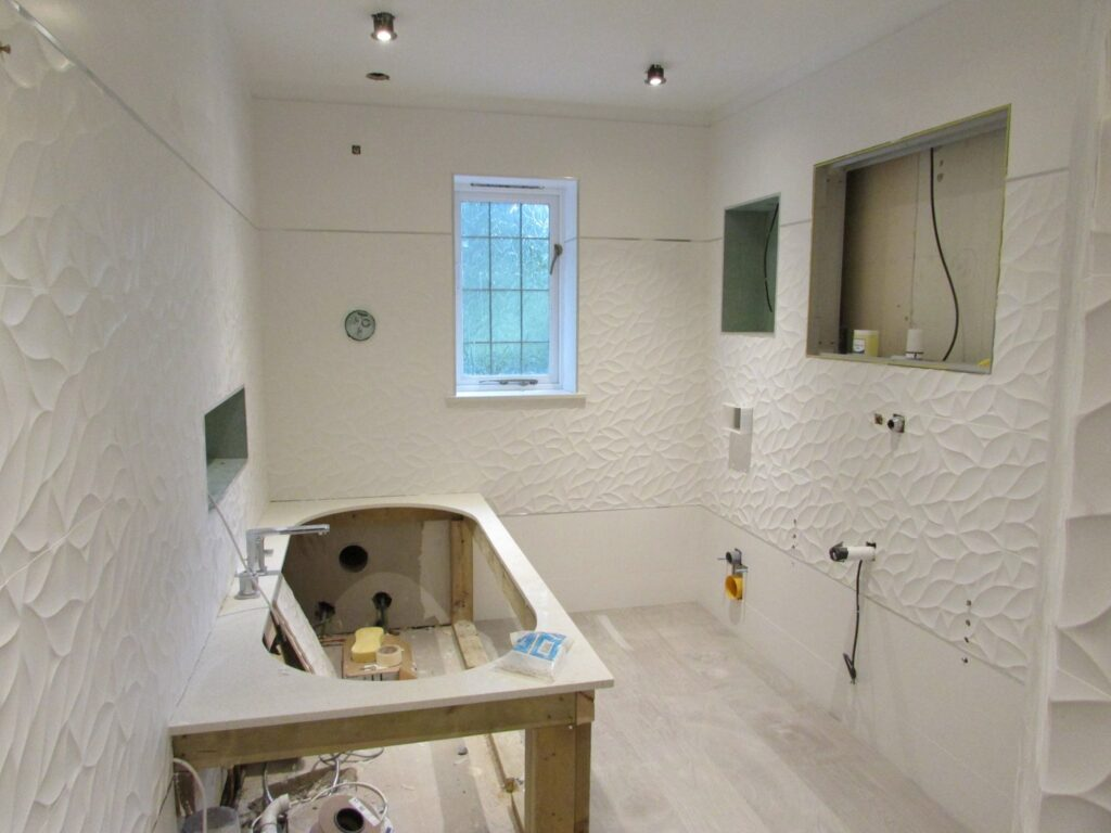Project of 6 luxury bathrooms in Birmingham - Renovations