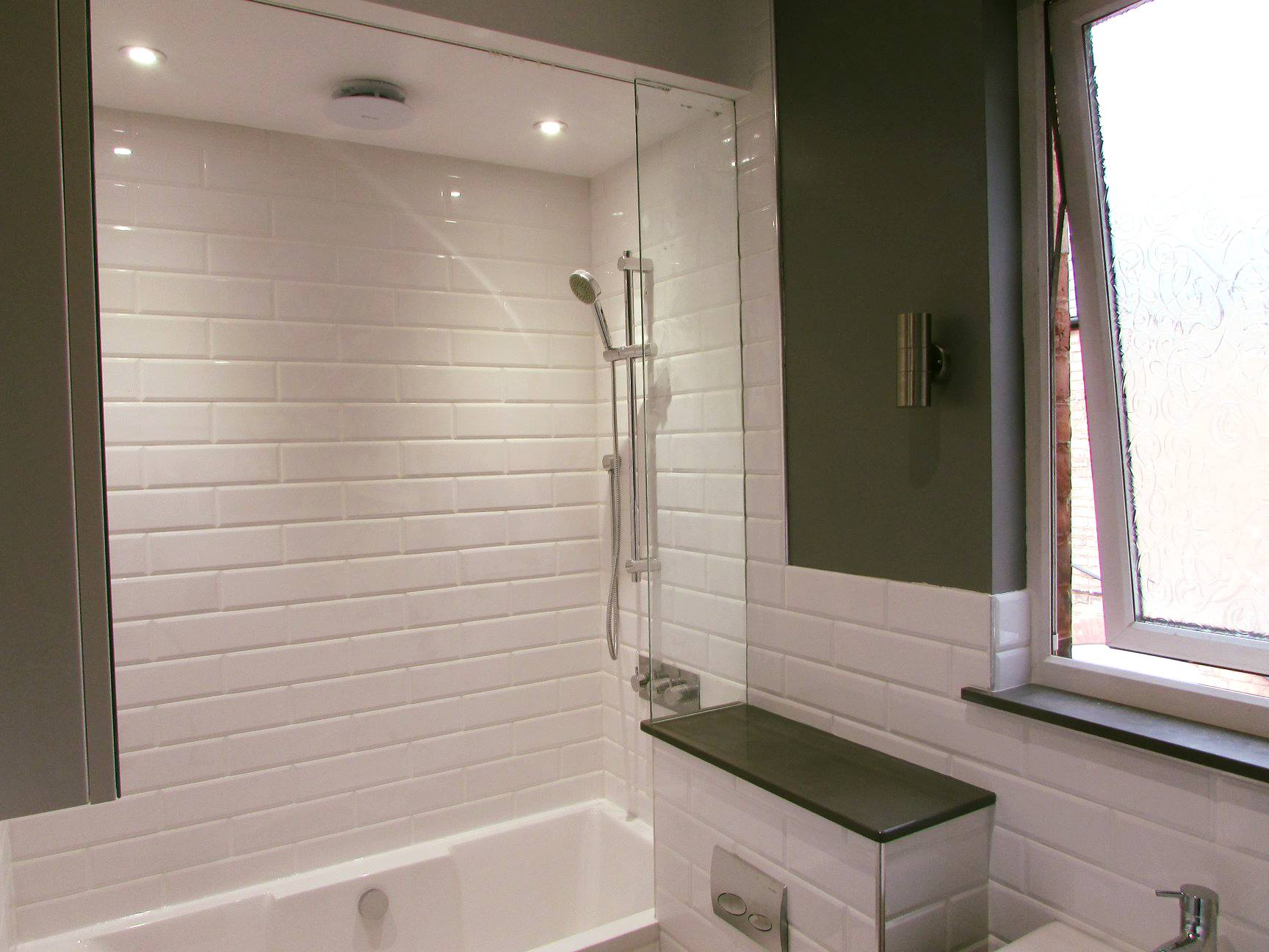 Natural Stone & Tiled Bathroom in Birmingham - Bathrooms